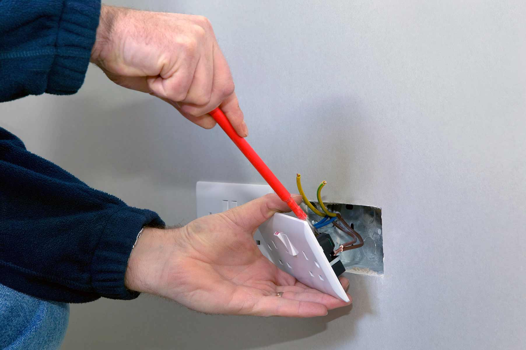 Our electricians can install plug sockets for domestic and commercial proeprties in Upper Holloway and the local area.